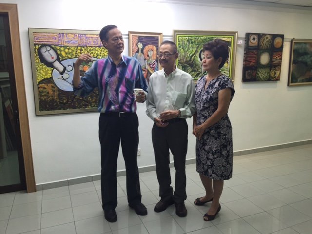 Exhibition at The Art Gallery
